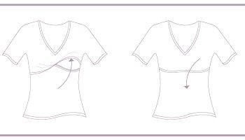 45da5a3186fe9c Bluzka do karmienia z długim rękawem jest rewelacyjną propozycją dla kobiet  w ciąży oraz mam karmiących piersią.